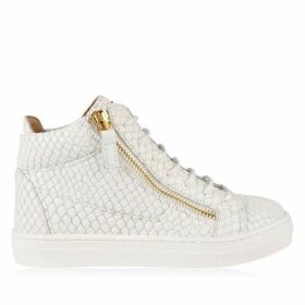 GIUSEPPE ZANOTTI Children Unisex London May Pyhton Trainers