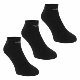 Emporio Armani Underwear 3 Pack Trainer Socks