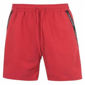 Calvin Klein Calvin Diagonal Tape Swim Shorts