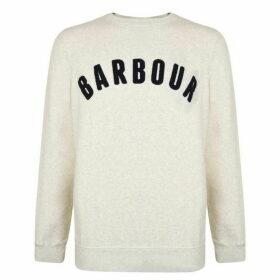 Barbour International Towelling Logo Sweatshirt
