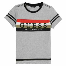 Guess Chest Logo T Shirt