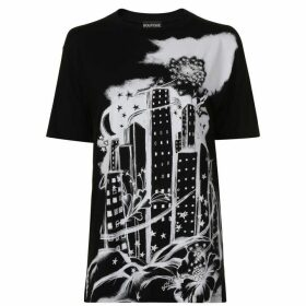 BOUTIQUE MOSCHINO Skyline T Shirt