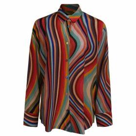 Paul Smith Swirl Silk Shirt