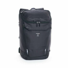 Hedgren Black Large Backpack with Rain Cover