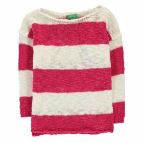 Benetton Stripe Knit Jumper