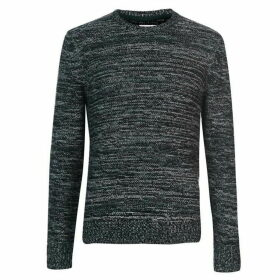 Criminal Harran Multi Coloured Knitted Jumper Mens