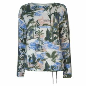 Oui Tropical Jumper Womens