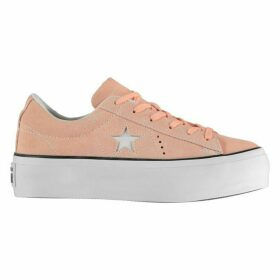 Converse One Star Platform Trainers