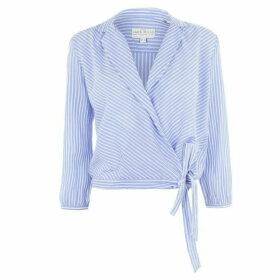 Jack Wills Jack Keira Wrap Shirt - Blue