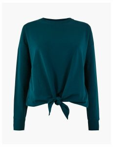 M&S Collection Knot Front Sweatshirt