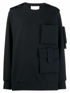 No Ka' Oi active performance sweater - Black