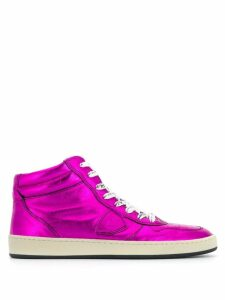 Philippe Model lace up sneakers - Pink