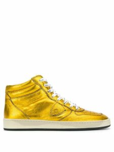 Philippe Model lace up sneakers - Yellow