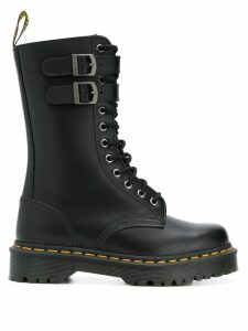 Dr. Martens mid-calf lace-up boots - Black