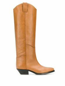P.A.R.O.S.H. knee-length boots - Brown