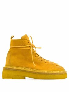 Marsèll lace-up ankle boots - Yellow