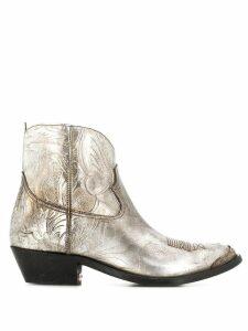 Golden Goose Texas boots - Silver