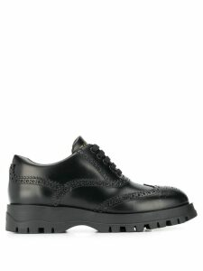 Prada brogue trainers - Black