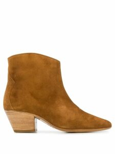 Isabel Marant Dacken ankle boots - Brown