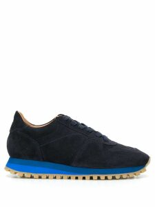 Closed lace-up low-top sneakers - Blue