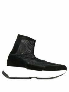 Mm6 Maison Margiela mesh sock sneakers - Black