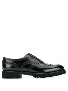 Church's commando sole Oxford shoes - Black