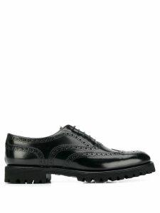 Church's commando sole derby shoes - Black