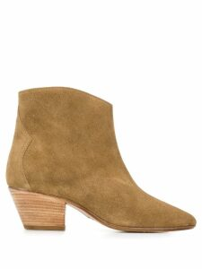 Isabel Marant Basso Scamosciato boots - Brown