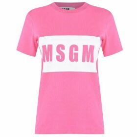MSGM Logo Box T Shirt