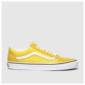 Vans Yellow Old Skool Trainers