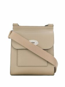Mulberry Small Antony Classic Grain Shoulder bag - Grey
