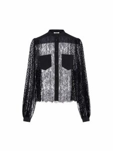 Givenchy Viscose Patchwork Laces Blouse