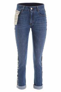 Stella McCartney Logo Band Jeans