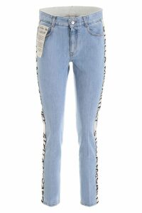 Stella McCartney Skinny Jeans With Logo Bands
