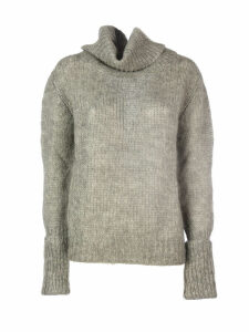Prada Mohair Turtleneck Sweater/collo Alto