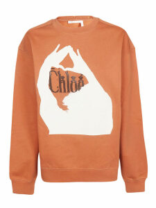 Chloé Brown Sweatshirt