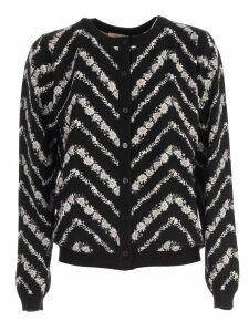 TwinSet Sweater L/s Korean Neck W/print