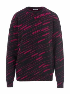 Balenciaga Knitted Logo Jumper