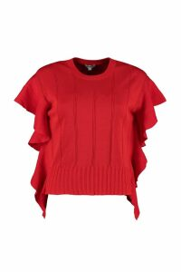 Kenzo Knitted Cotton And Silk Top