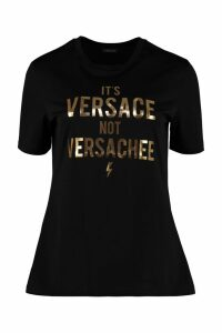 Versace Crew-neck Cotton T-shirt