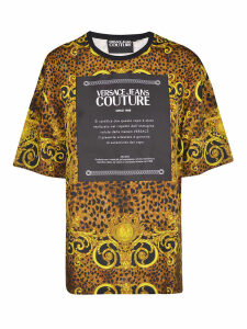 Versace Jeans Couture Printed Cotton T-shirt