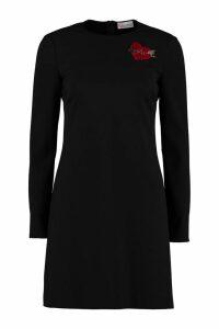RED Valentino Stretch Sheath Dress