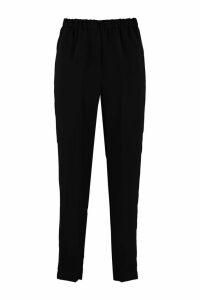 Forte Forte High-waist Crêpe Trousers
