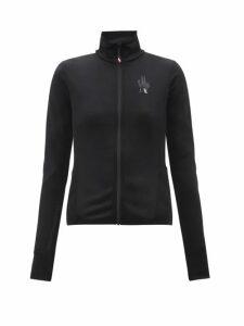 Rhode - Lena Tasselled Floral-print Cotton Wrap Dress - Womens - Green Print