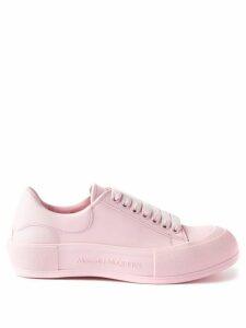 Solid & Striped - Smocked Cotton-poplin Mini Dress - Womens - Black