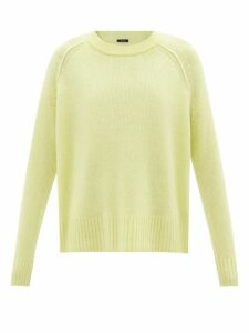 Solid & Striped - Striped Denim Shorts - Womens - White Multi