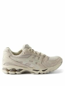 Loewe - Anagram Embroidered Wool Cardigan - Womens - Blue Multi