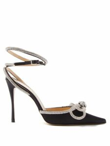 Allude - Funnel-neck Cashmere Sweater - Womens - Dark Grey