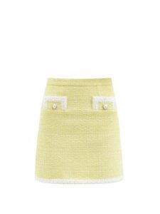 Jil Sander - High-neck Cashmere-blend Ribbed Sweater - Womens - Natural 9501