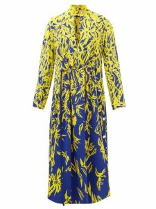 Joseph - Ribbed Silk Blend Jersey Sweater - Womens - Beige